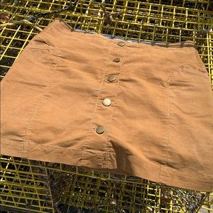 Toad & Co like new corduroy skirt with pockets